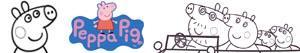 ausmalbilder Peppa Pig - Peppa Wutz malvorlagen