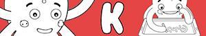 ausmalbilder Jungennamen mit K malvorlagen